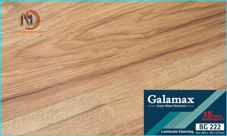 Sàn Gỗ Galamax 8ly BG222