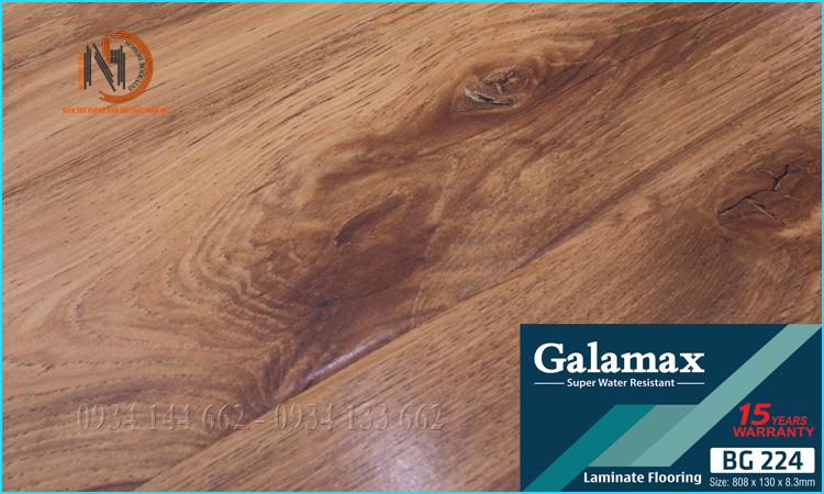 Sàn Gỗ Galamax 8ly BG224