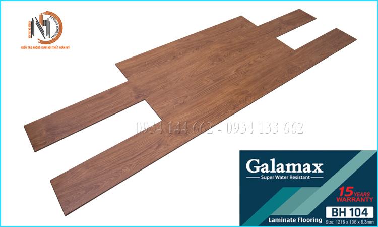 Sàn Gỗ Galamax 8ly BH104