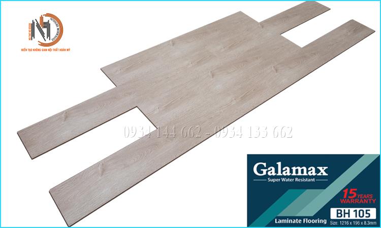 Sàn Gỗ Galamax 8ly BH105