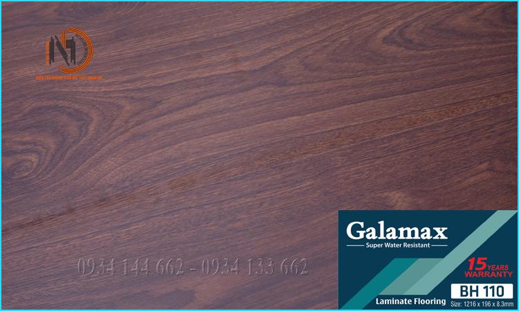 Sàn Gỗ Galamax 8ly BH110