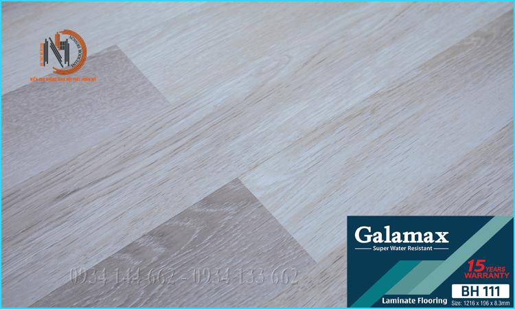 Sàn Gỗ Galamax 8ly BH111