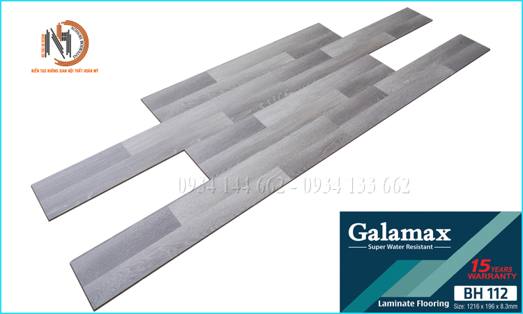 Sàn Gỗ Galamax 12ly BH112
